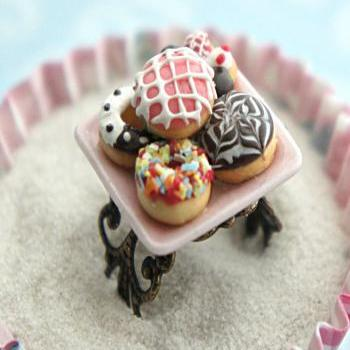 assorted donuts ring